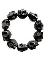 skull,silver,black jewels,grey jewels,jewels
