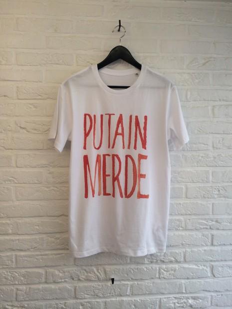 T Shirt Th Gallery Putain Merde - Atelier Amelot