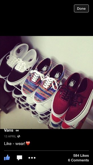 love shoes vans multicolour orange green niall horan middle one