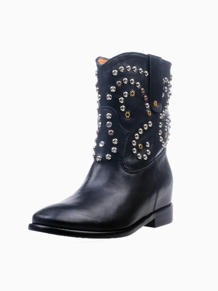 Studded Western Boot | Choies