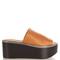 Flore leather flatform sandals