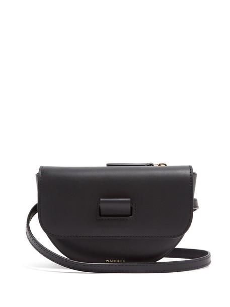 Wandler belt bag bag leather black
