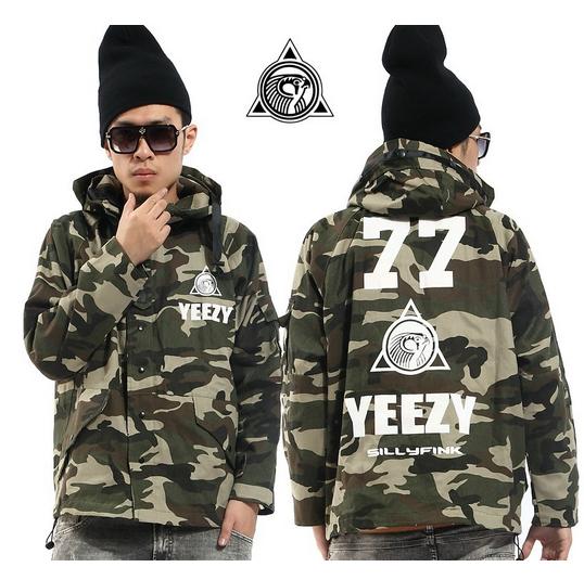 Yeezy 77 camo jacket
