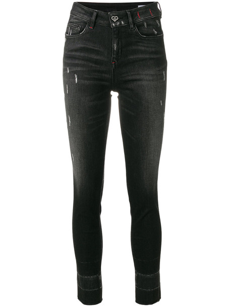 Twin-Set jeans women cotton black