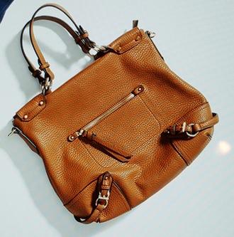 bag caramel leather crossbody bag
