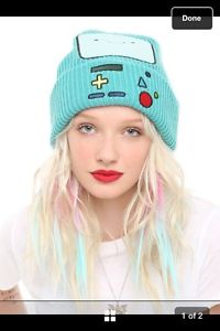 Adventure Time with Finn Jake Green BMO Beemo Watchman Knit Beanie Hat Ski Cap | eBay