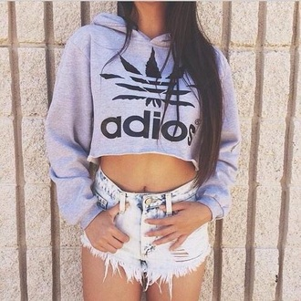 shorts sweater