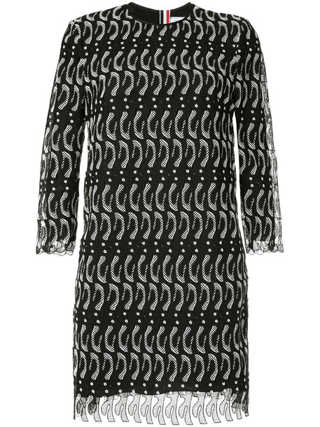 Thom Browne dress lace dress women lace black