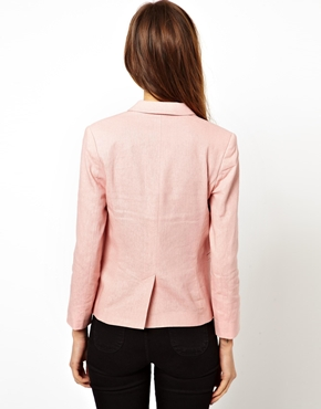 ASOS | ASOS Linen Tailored Blazer at ASOS