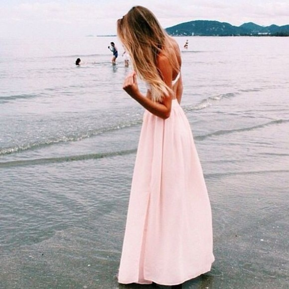 dress pink light pink long dress pink dress light pink dress maxi light pink maxi pink maxi pastel