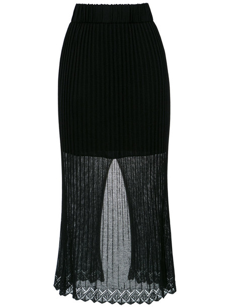Cecilia Prado skirt women black knit