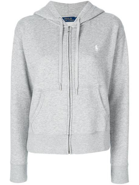 958a4c6bb Polo Ralph Lauren Polo Ralph Lauren - zip up hoodie - women -  Cotton Polyester - M