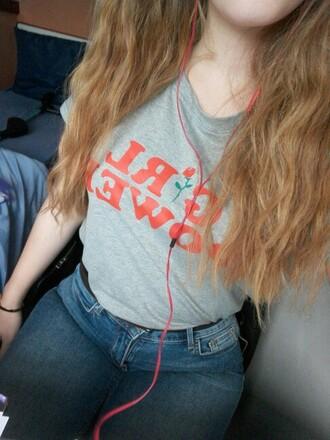 shirt feminism feminist girl girl shirt t-shirt girl t-shirt summer outfit clothes special shirt girl power power
