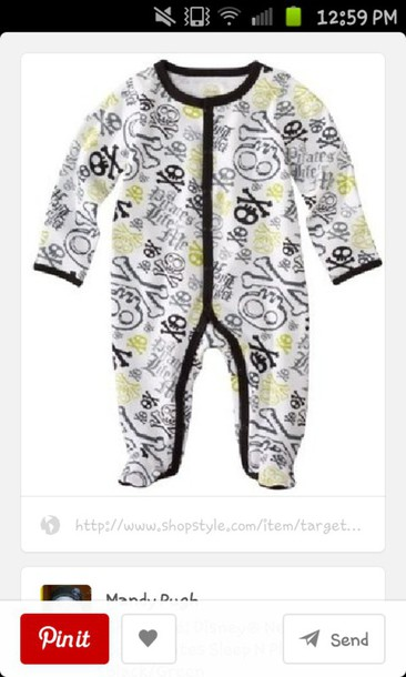 pajamas baby onsies pirate baby boy
