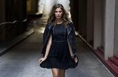dress,black leather jacket,studs,grommets,black dress,little black dress s,studded dress,biker jacket,motorcycle jacket,nastygal,all black everything,black,jacket