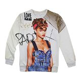 Amazon.com: 3d sweatshirt rihanna
