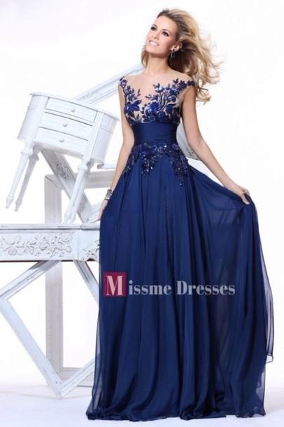69d52a6cc169 dress evening dress chiffon prom dresses prom dress empire prom dresses  blue prom dress evening dress