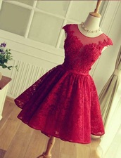 dress,red dress with detailing