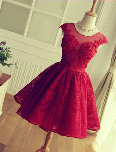dress red dress with detailing