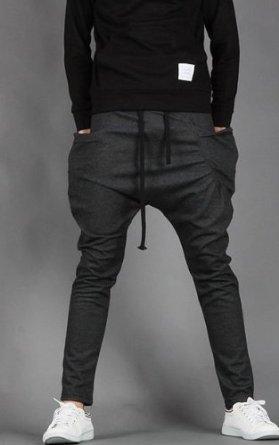 Amazon.com: Mens Baggy Jogging Harem Pants Casual Sports Dance Training Trousers: Clothing