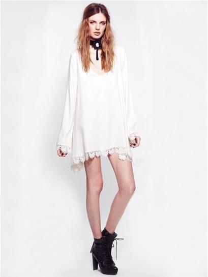 For love & lemons angelic dress in white