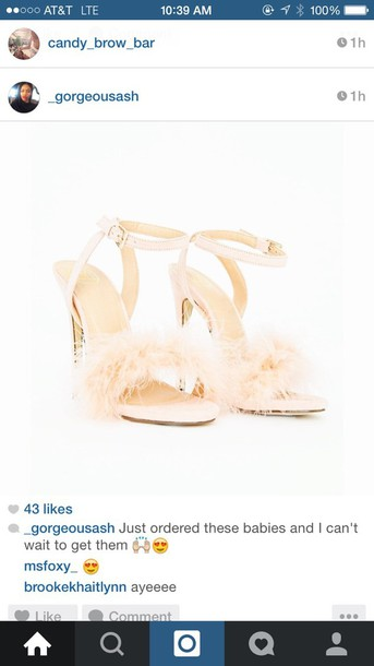 shoes fluffy sandals wedding shoes