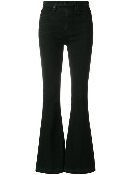 Rag & Bone women cotton black pants