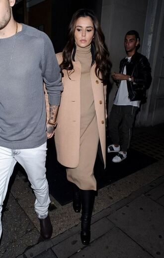 dress sweater dress coat cheryl cole maternity dress maternity turtleneck fall dress fall colors fall outfits