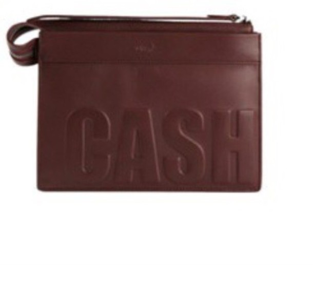 bag brown clutch