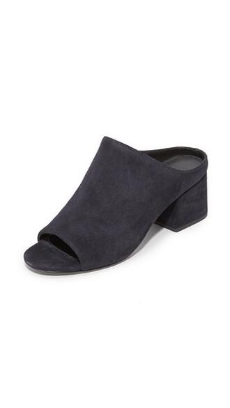 open mules shoes
