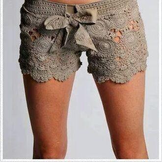 shorts lace shorts