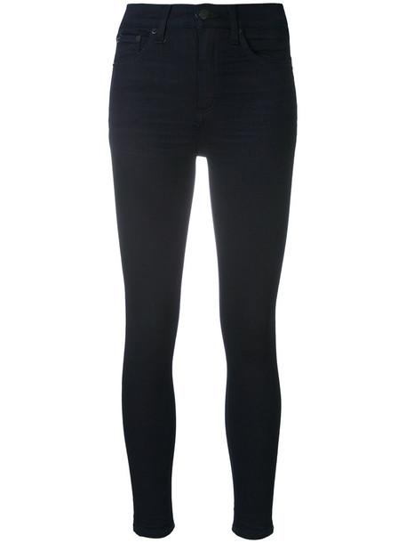 jeans skinny jeans high women cotton blue