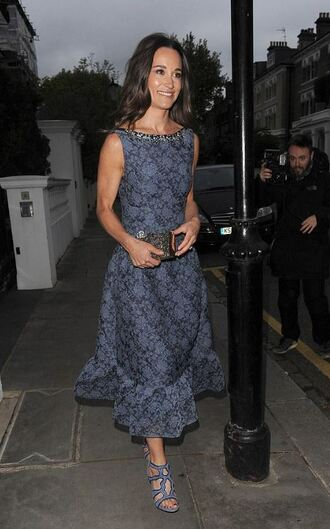 dress midi dress sandals pippa middleton sandal heels shoes