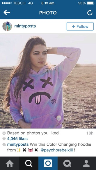 sweater hoodie sweatshirt pink sweater purple sweater