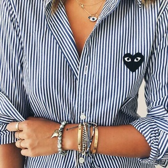 shirt oxfords blue girl