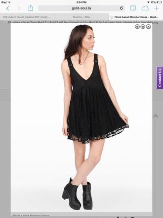 dress floral dress black floral dress