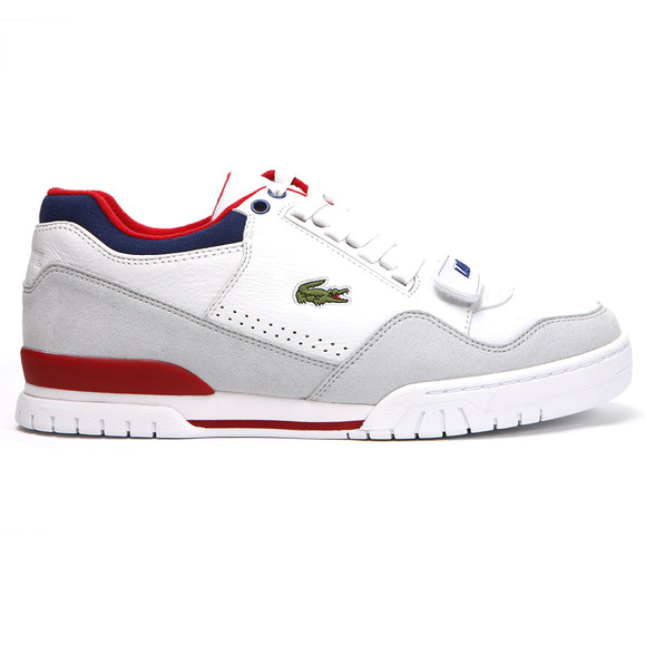 Lacoste L!ve Missouri White Trainers | Oxygenclothing.co.uk