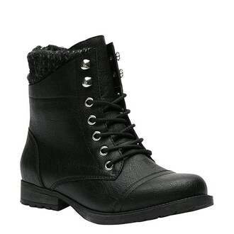 shoes veters black boots