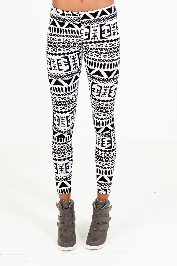 shoes aztec leggings
