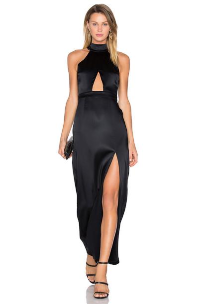 8433a81bb2b NBD x REVOLVE Zendaya Dress in black - Wheretoget
