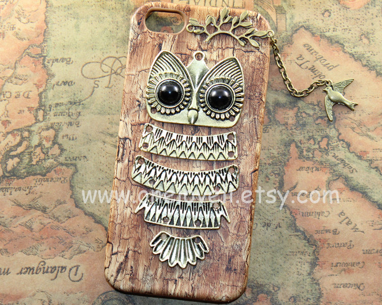 Iphone 5 case,cute owl iphone case,lovely fly bird pu leather case for iphone 5 case, iphone 5 hard case