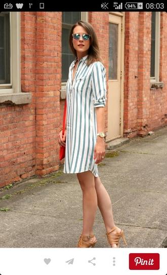 dress shirt dress tshirt dress petite petite fashion striped dress
