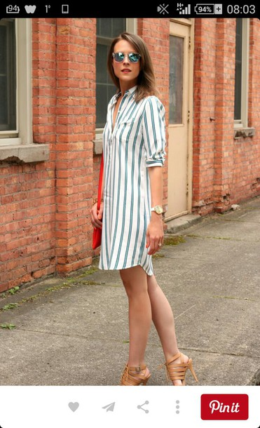 dress shirt dress t-shirt dress petite petite fashion striped dress