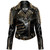 Gold Spike Leather Jacket [B] | KILLSTAR