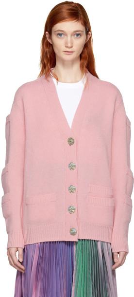 CHRISTOPHER KANE cardigan cardigan pink sweater
