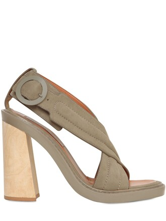 sandals leather sandals leather taupe shoes