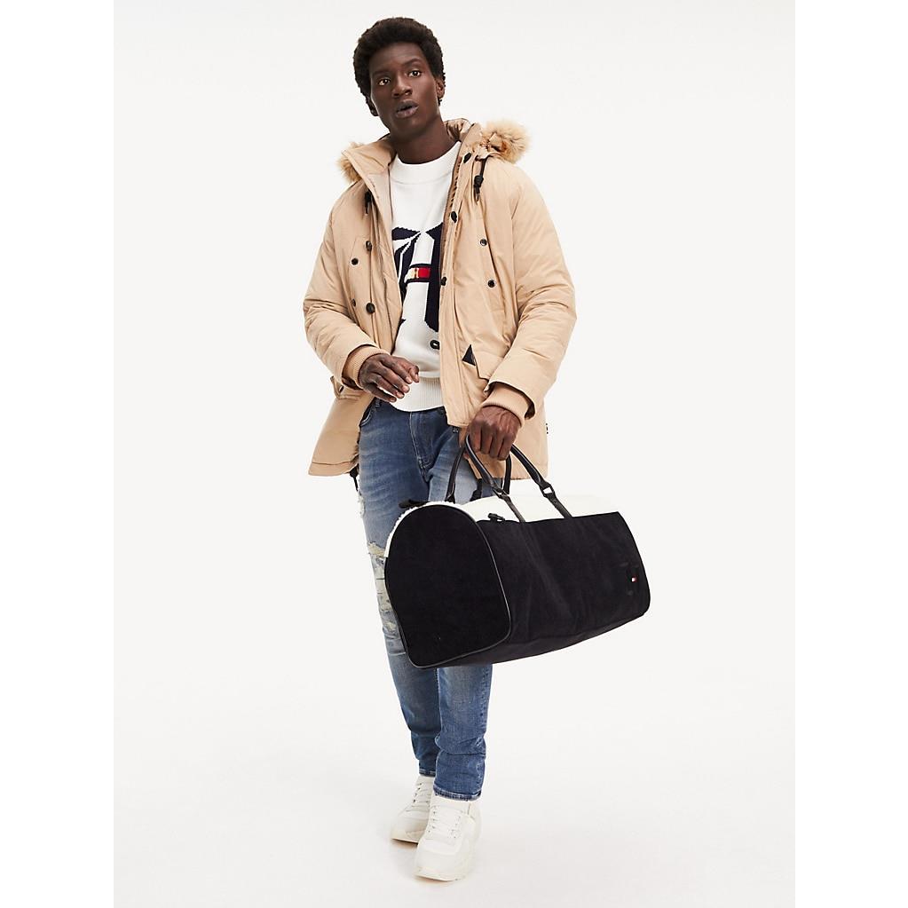 Lewis Hamilton Corduroy Duffel Bag
