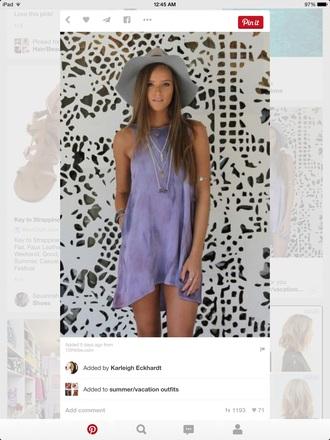 dress purple dress babydoll dress flowy dress