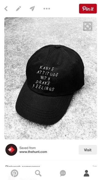 hat black kanye west