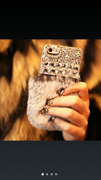 jewels iphone 5 case fur